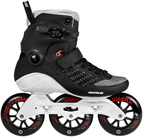 Powerslide Swell 110 Skates – Metallic Black