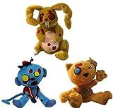 Creepy Cuddlers Zombie Plush Set Of 3