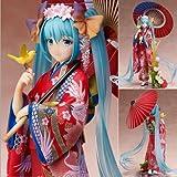 New Stronger Hatsune Miku Flowers Kimono Ver. 1/8 PVC Figure Anime Toy Gift
