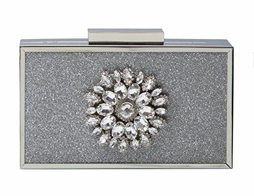 ECOSUSI Elegant Rhinestone Starburst Evening product image