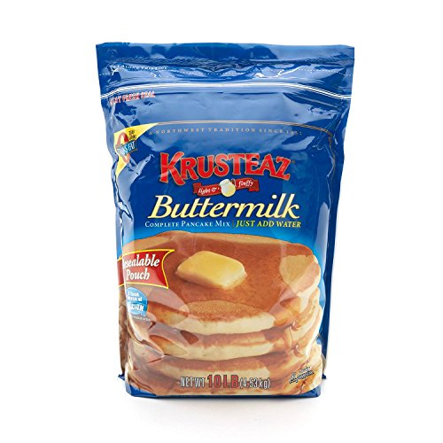 Krusteaz Buttermilk Pancake Mix - 10 lb. - CASE PACK OF 4