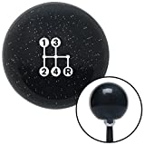 4 speed shift knob - American Shifter 279223 Shift Knob (White 4 Speed Shift Pattern - Dots 6n Black Metal Flake with M16 x 1.5 Insert)
