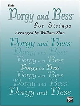 Porgy and Bess for Strings: Viola by George Arr Gershwin (2001-08-06)