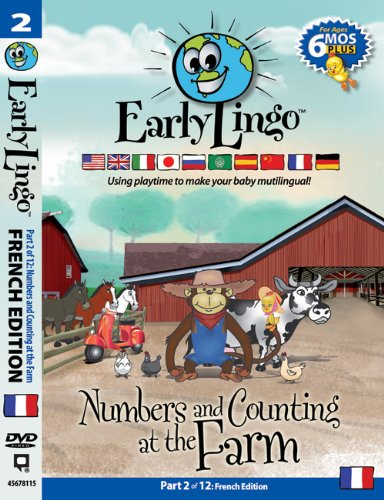 Early Lingo Numbers & Counting at the Farm Part 2