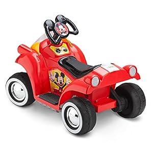 Disney Mickey Mouse 6V Toddler KT1122 Ride On, Quad