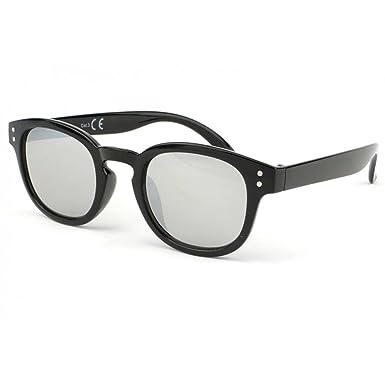 c6f1c66fe1e77d Eye Wear Lunette soleil enfant noir verre miroir Kyz 6 a 12 ans - Garçon   Amazon.fr  Vêtements et accessoires