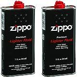 Zippo Premium Lighter Fluid   12-Ounces   2-Pack