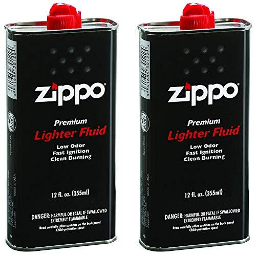 Zippo Premium Lighter Fluid | 12-Ounces | 2-Pack