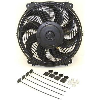 Amazon.com: Hayden Automotive 3670 Rapid-Cool Thin-Line Electric Fan on