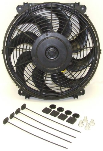 (Hayden Automotive 3690 Rapid-Cool Thin-Line Electric Fan)
