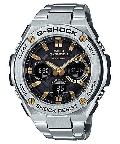 Casio Men's GST-S110D-1A9 G-Shock G-Steel