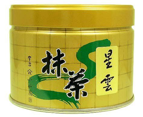 Seiun 150g tin, Premium Ceremonial Grade Uji Matcha Green Tea Powder from Yamamasa Koyamaen, Kyoto by Yamamasa Koyamaen (Image #8)