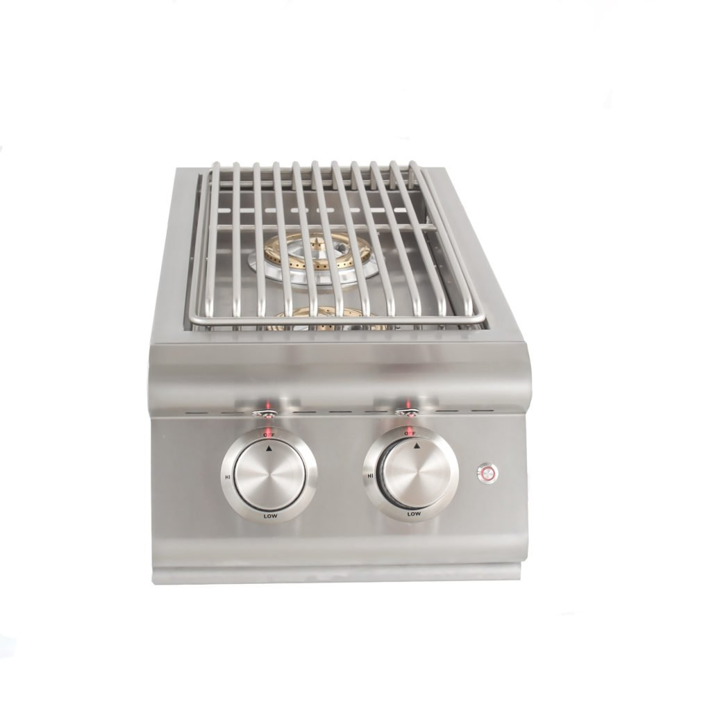 Blaze Built-In LTE Double Side Burner with Lights - Propane by Blaze Grills