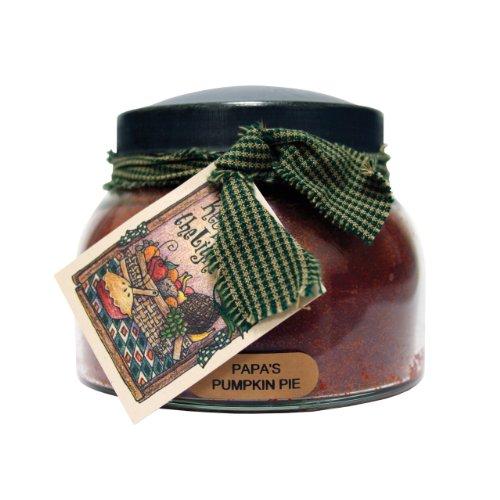 A Cheerful Giver A Papa's Pumpkin Pie 22 oz. Mama Jar Candle, 22oz