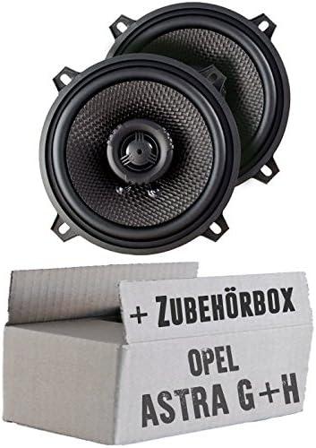 Ampire Cp130 13cm Lautsprecher 2 Wege Koaxialsystem Einbauset Für Opel Astra G H Tür Hinten Just Sound Best Choice For Caraudio Navigation