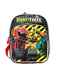 "Mini Backpack - DinoTrux - Mega Team Black 10"" School Bag New 85097"
