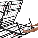 "Amazon Basics Foldable, 14"" Metal Platform Bed"