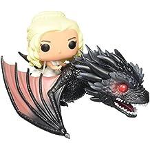 Daenerys Targaryen E Drogon - Funko Pop Game Of Thrones