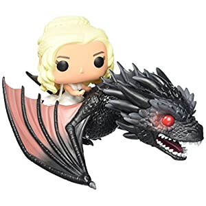 Funko 7235 Game of Thrones Pop Rides – Daenerys and Drogon #15
