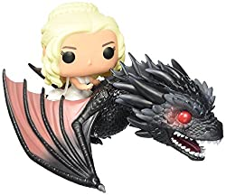 Funko POP Rides: Game of Thrones - Dragon & Daenerys Action Figure