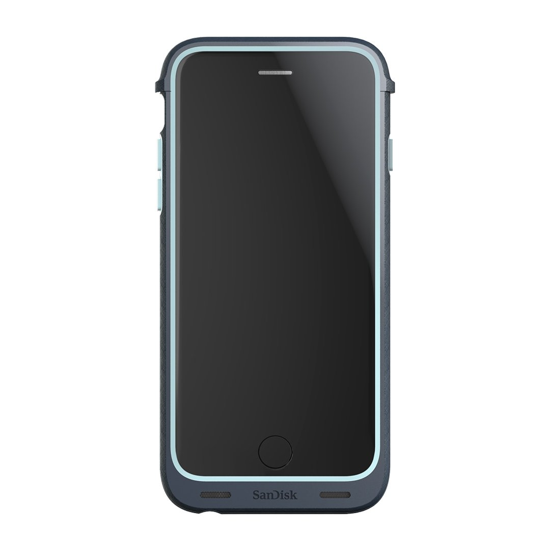 SanDisk iXpand 128GB Memory Case for iPhone 6/6s - Retail Packaging - Teal