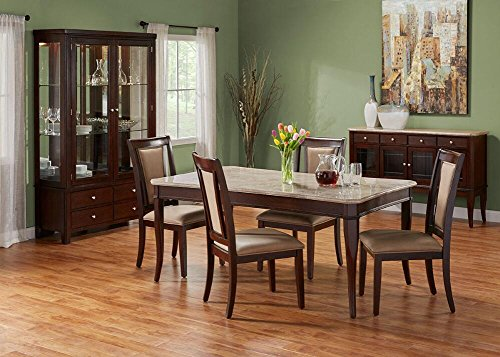 Martini 7 Pc. Dining Room Set With China Cabinet