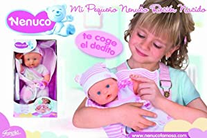 Amazon.es: Famosa 700009013 Nenuco - Muñeco de bebé recién nacido ...