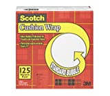 Scotch Cushion Wrap, 30.4cm x 38.1m, 125 Square Feet, 1-Pack, (7962-12X125)