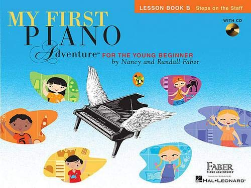 - My First Piano Adventure: Lesson Book B with CD