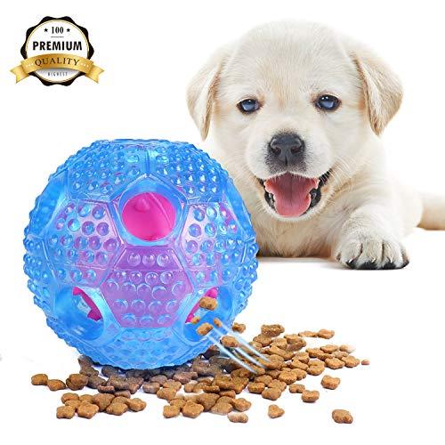 VECELA Dog Toy Balls Interactive Dog Toy IQ Training Ball...