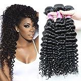 Deep wave Brazilian hair bundles cheap human hair weave 7a unprocessed virgin hair extensions Brazilian virgin hair deep curly For Sale