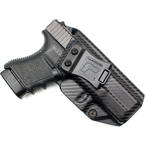 Tulster Glock 30S Holster IWB Profile Holster (Black Carbon Fiber - Right Hand)