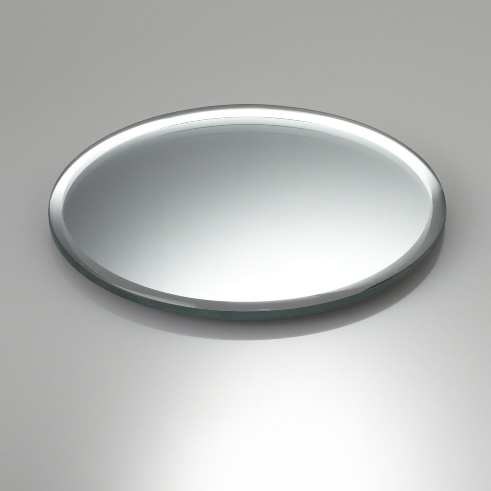 Eastland inch round beveled mirror great for table
