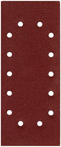 50/x Papier abrasif feuilles abrasives 115/x 280/mm 14/trous k/örn = 40/Ponceuse vibrante