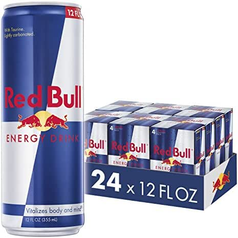 Energy & Sports Drinks: Red Bull