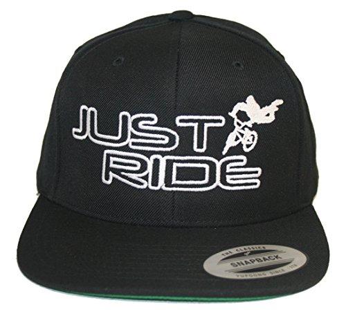 JUST RIDE BMX Hat Flat Bill Snapback - Bmx Hats