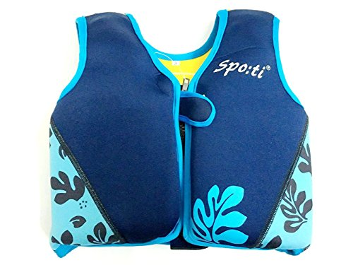 Titop Life Jacket for Child for New Swimming Learner Protection Vest for Baby (Printing Blue, S 22-33lbs) by Titop