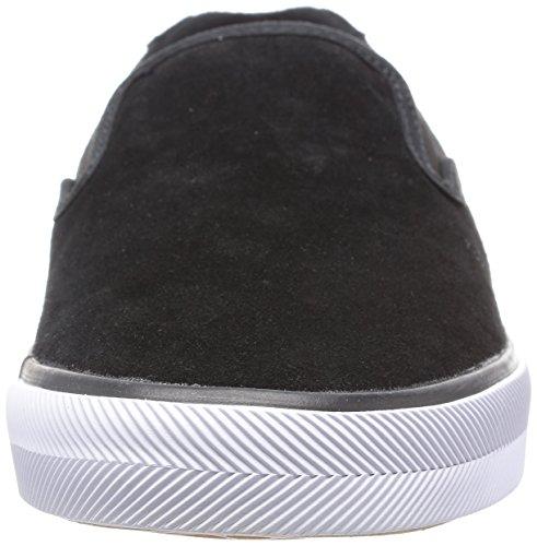 C1rca Mens Corpus Slip-on Lichtgewicht Binnenzool Skate Schoen Zwart / Wit