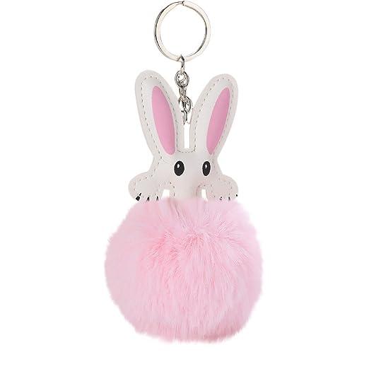 Amazon com: Cute Keychains for Car Key CZYCO 8CM Cute Rabbit