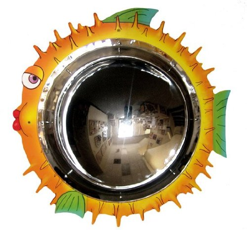 Anatex Blowfish Mirror Wall Panel by Anatex