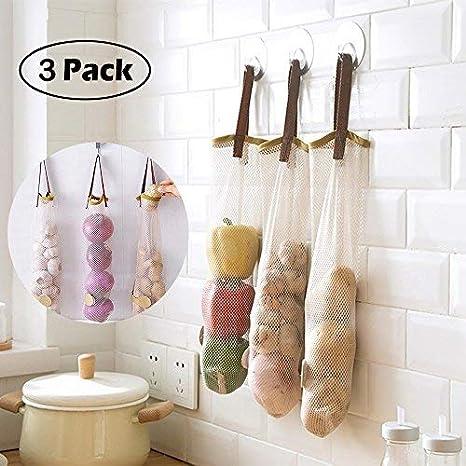 Amazon.com: 3 bolsas de almacenamiento, bolsa de plástico de ...