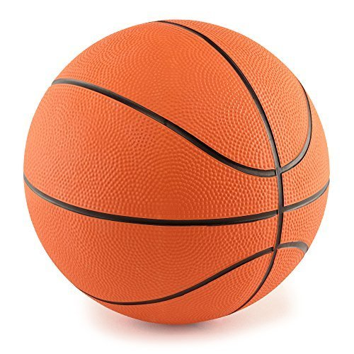 """Mini Rubber 7"""" Basketballs 4-Pack by PlayTime"""