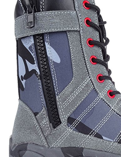 DOUBLE-RED Herrenstiefel Blue/Grey Camo
