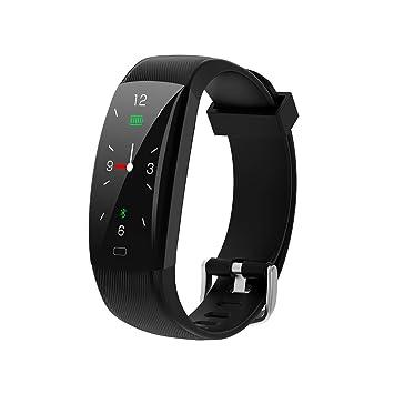 ZED- Pulsera de Actividad Inteligente Reloj Deportivo con Pulseras de Repuesto Podómetro Monitor de Sueño