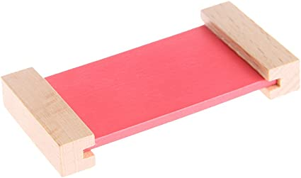 Qiuxiaoaa Juguetes Montessori para niños pequeños-Montessori Material sensorial Color de Aprendizaje Caja de Tableta Juguete Preescolar de Madera Colorido: Amazon.es: Hogar