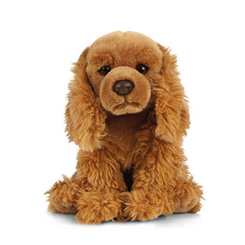 Living Nature Soft Toy - Plush Cocker Spaniel Dog (20cm) ()