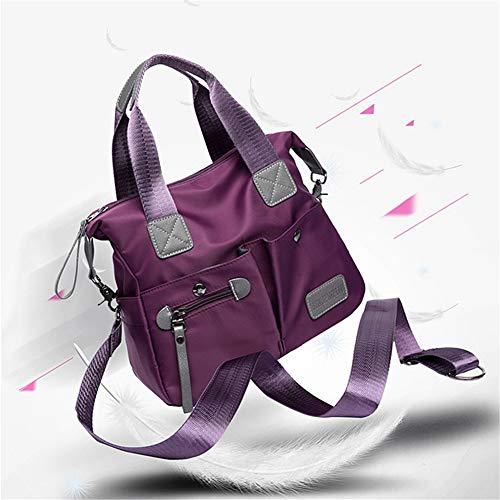 Nylon à en Sac s m imperméables Sacs OURBAG pour bandoulière bandoulière à Femmes Violet Rouge vTqxpdn