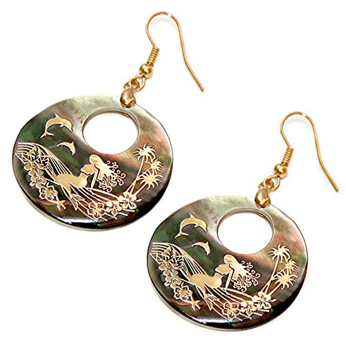 Liavy's Mermaid Fashionable Earrings - Fish Hook