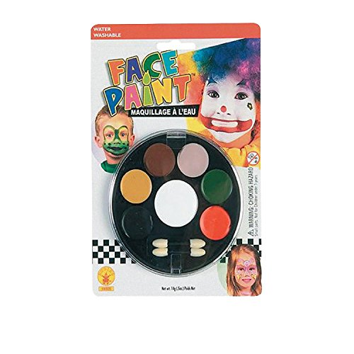 7-Color Face Paint Tray (With Sticky (Butterfly Costume Face Paint)
