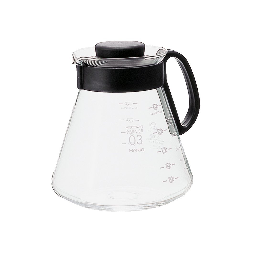 Hario V60 Glass Range Coffee Server, 800ml